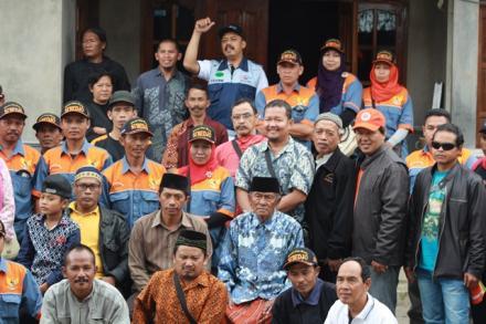 Acara Temu Kangen Dan Syawalan Relawan 907 Balerante