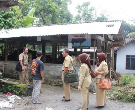 BAPERMADES Provinsi Jawa Tengah Monitoring Program Rintisan  Desa Model Berdikari Di Desa Balerante