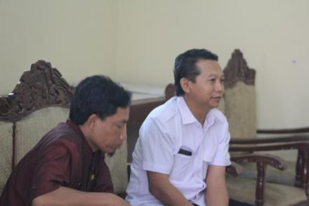 Kunjungan Rombongan Komisi Informasi Publik ( KIP ) Jawa Tengah Ke Desa Balerante