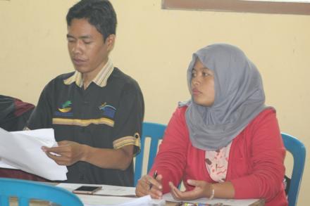 Sosialisasi dan Validasi Calon Penerima  Program Keluarga Harapan ( PKH ) Desa Balerante - Panggang