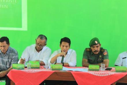 Sosialisasi pra Pelaksanaan Pekerjaan Rehabilitasi dan Rekontruksi Sabo Dam Merapi Kali Woro Provins