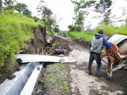 Pembangunan Tahun 2017 Terkendala Musim Hujan