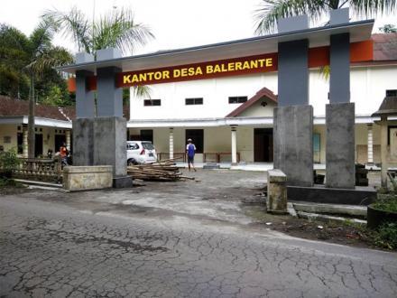 Wajah Baru Kantor Desa Balerante