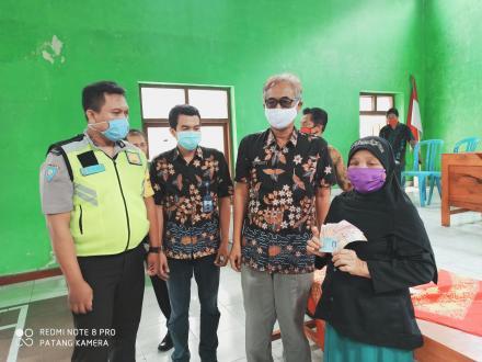 Penyaluran Bantuan Langsung Tunai Dana Desa (BLT-DD) Desa Balerante