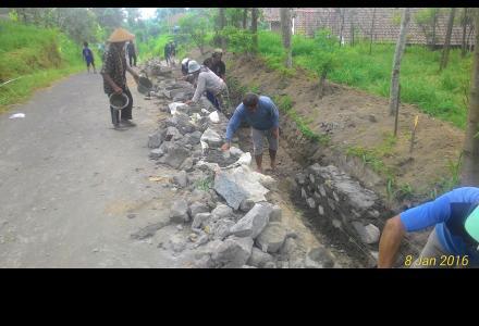 Pembangunan Drainase Sukorejo 2015